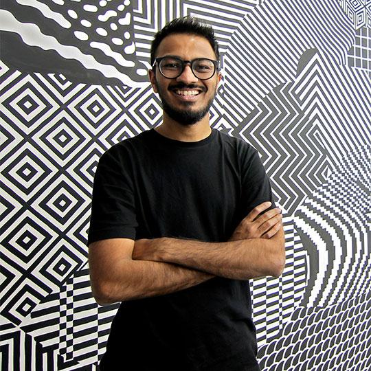 Aniruddh Mehta - Graphic Designer