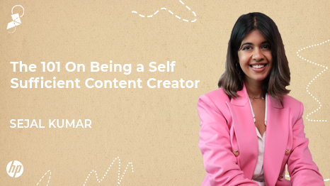 Video Content Creation by Sejal Kumar