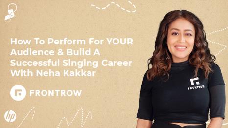 Video Content Creation with Neha Kakkar